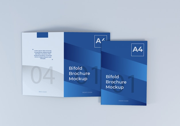 Cover bifold brochure sjabloon