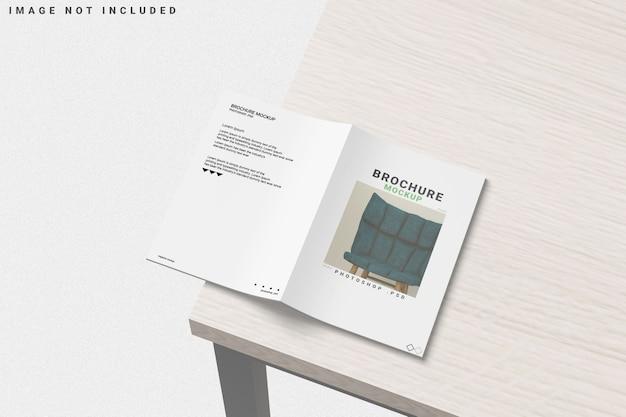 Cover brochure mockup