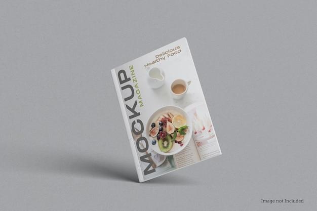 Cover magazine mockup rendering design