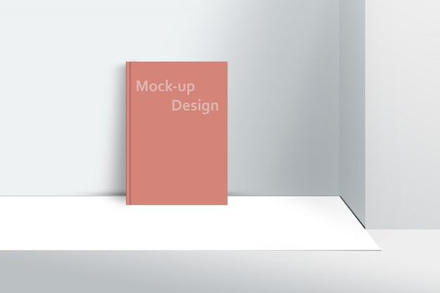 Cover mock-up template a4 size