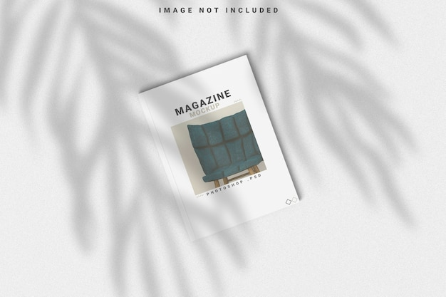 Cover tijdschrift mockup