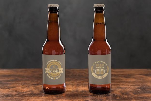 Craft beer concept mock-up