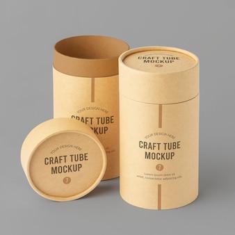 Craft cilinder realistisch ontwerpmodel