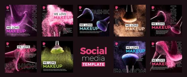 Crear publicación en redes sociales