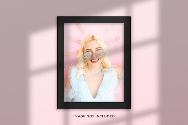 Creatief en minimalistisch frame mockup