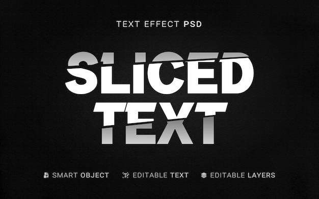 Creatief gesneden teksteffect