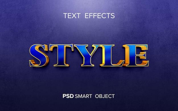 Creatief gouden teksteffect