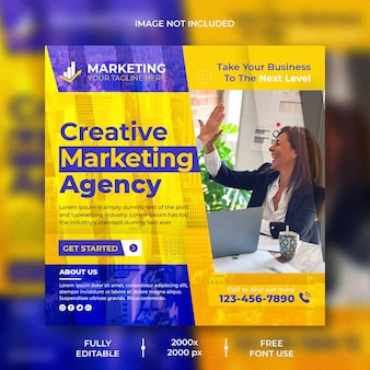 Creatief marketingbureau social media en instagram post design