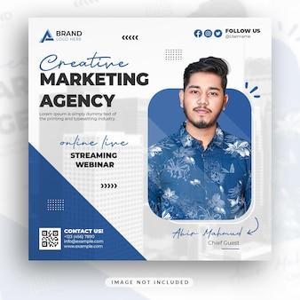 Creatief marketingbureau social media en instagram postontwerp
