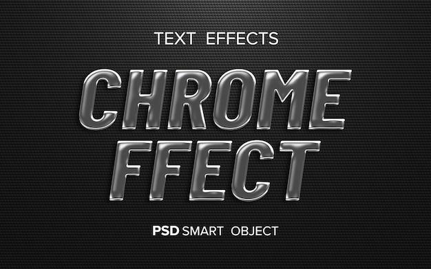 Creatief metalen teksteffect