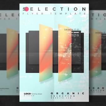 Creatief poster van het ontwerp