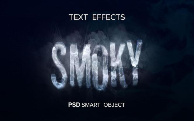 Creatief rookteksteffect