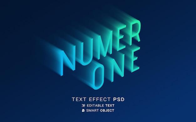 Creatief verdwijnend teksteffect Gratis Psd