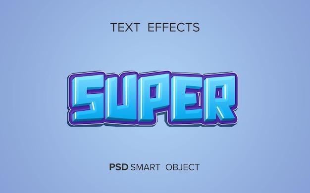 Creatief vetgedrukt teksteffect