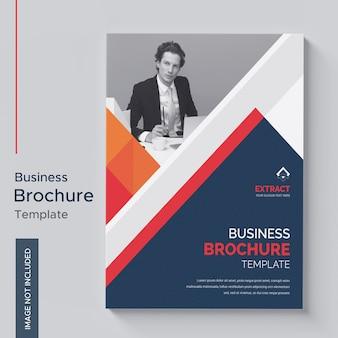 Creatieve brochure sjabloon