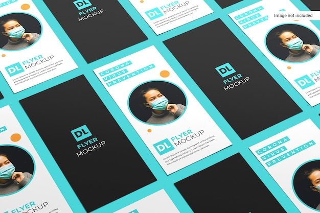 Creatieve flyer mockup