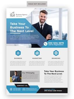 Creatieve marketingbureau zakelijke flyer