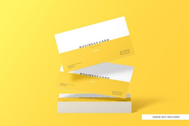Creatieve visitekaartje mockup