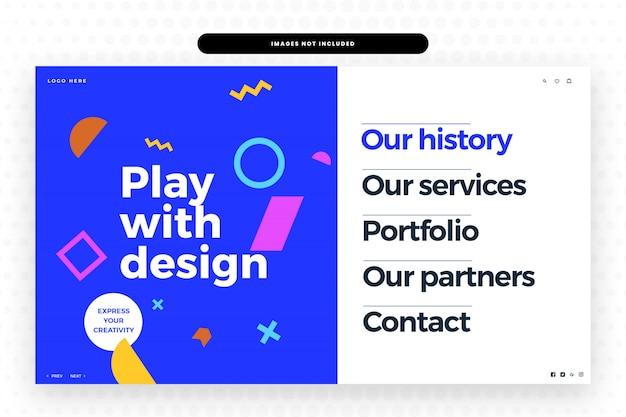 Creatieve website