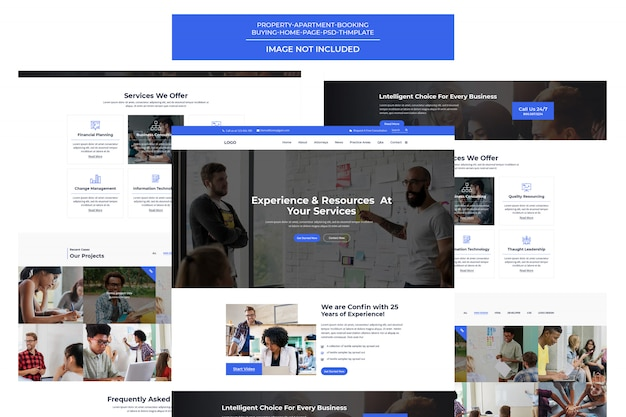 Creative digital agency-sjabloon