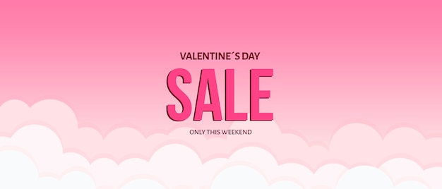 Creativo modello di vendita di valentines