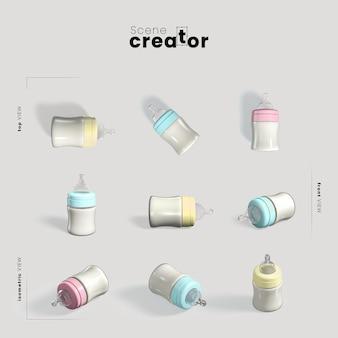 Creator voor babyflessen