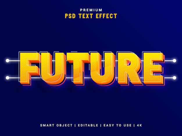 Creatore di effetti di testo futuro