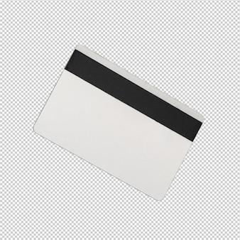 Creditcard op witte achtergrond