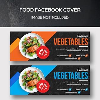 Cubiertas de comida en facebook