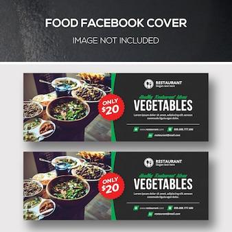Cubiertas de facebook de alimentos