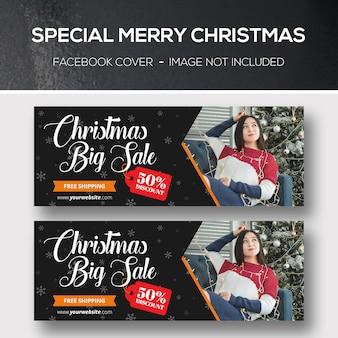 Cubiertas navideñas de facebook