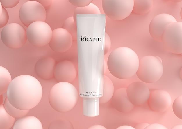 Cuidado de la piel hidratante cosmética productos premium