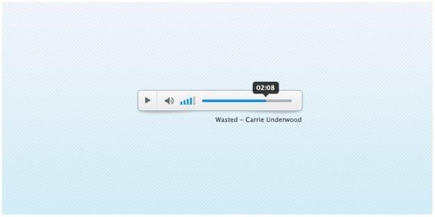Cw audio player psd