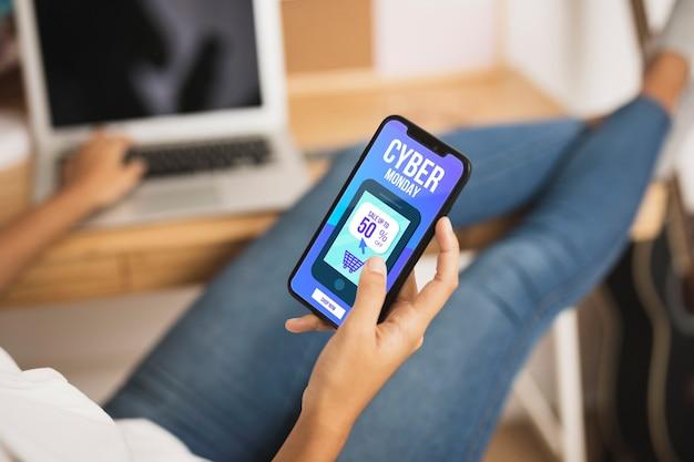 Cyber online marketingontwerp