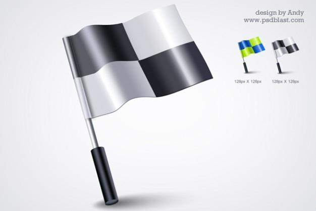 D flag icon psd