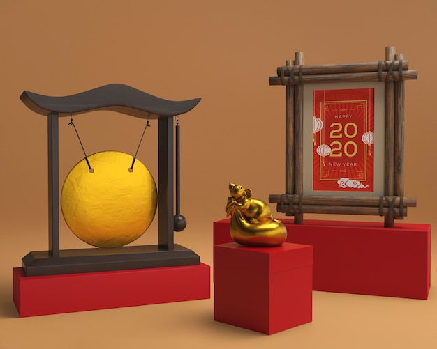 Decoraciones de año nuevo chino