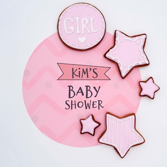 Decoraciones de baby shower para niña