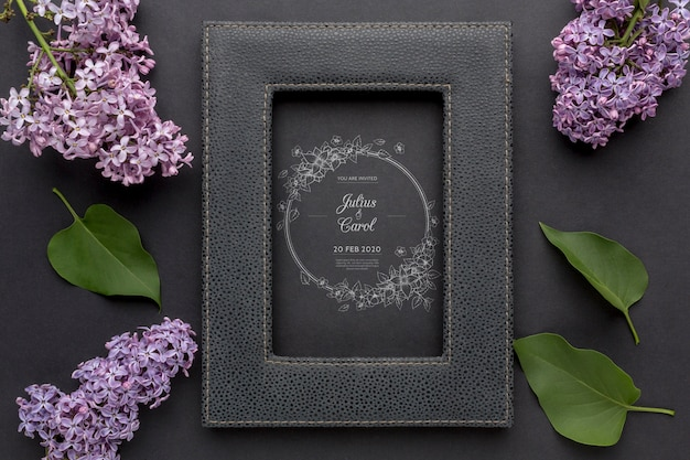 Decoratief frame concept mock-up