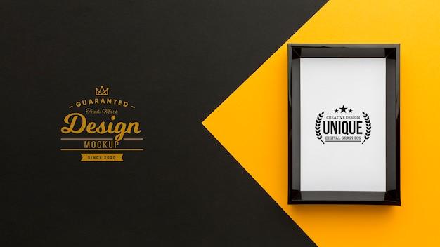 Decoratief frame concept mock-up