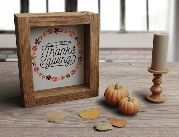 Decoratieve opstelling voor thanksgiving day