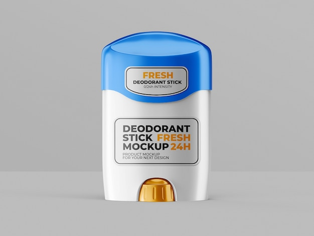 Deodorant stick mockup-sjabloon