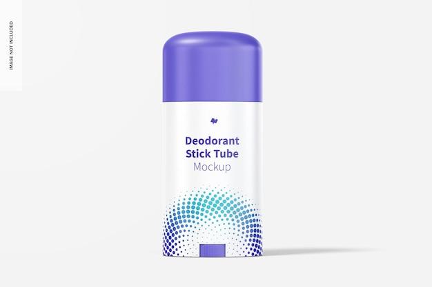 Deodorant stick tube mockup
