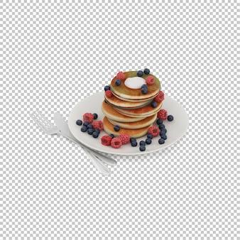 Desayuno isometrico