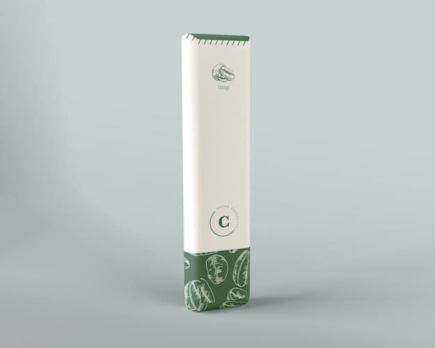 Design avvolgente in carta e cioccolato