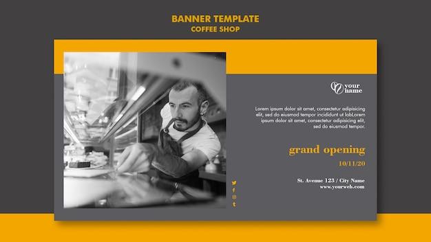 Design banner caffetteria