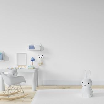 Design della stanza interna della scuola materna