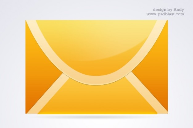 Di colore diverso posta set di icone