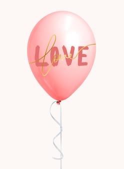 Dia de san valentin globo