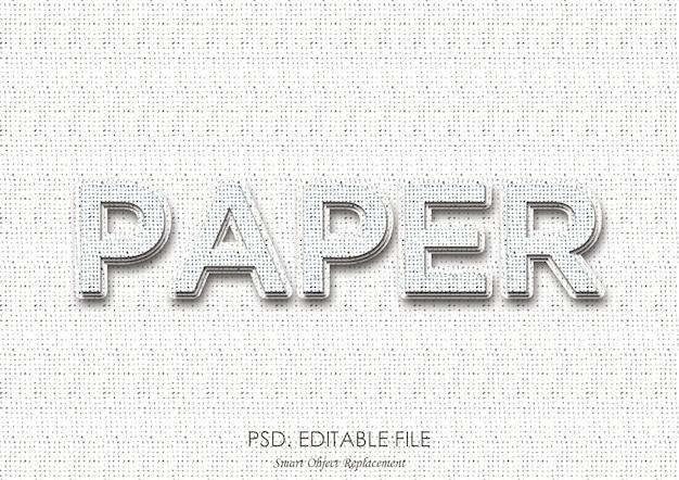 Diepte-stijl voor tekst op papier