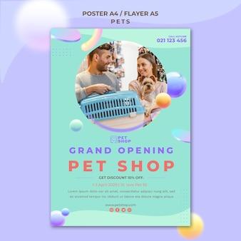 Dierenwinkel grootse opening poster